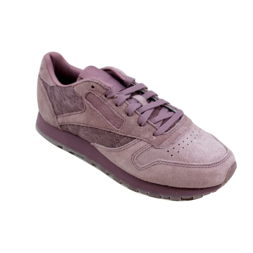 b9b62c04bcafaf Shop Reebok Classic Leather Lace Smoky Orchid White BS6521 Women s - Free  Shipping Today - Overstock - 27339822