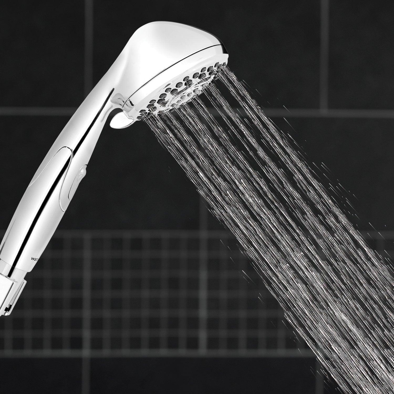 Shop Waterpik ShowerJet Detachable Showerhead   Chrome Finish Bathroom  Fixture   Silver   Free Shipping On Orders Over $45   Overstock.com    23540369