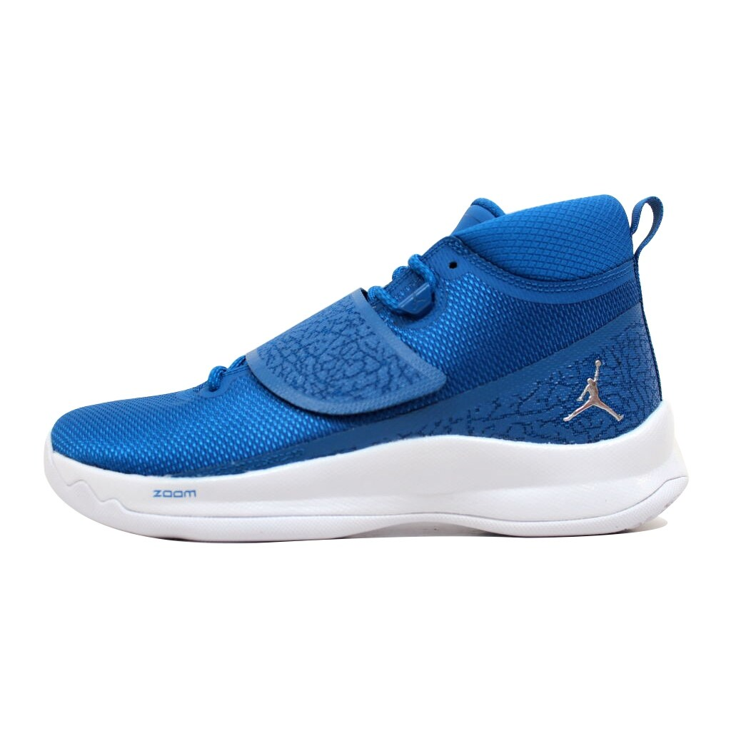 size 40 26b19 b5103 Shop Nike Air Jordan Super Fly 5 PO Team Royal Metallic Silver 881571-406  Men s - On Sale - Free Shipping Today - Overstock - 20139459