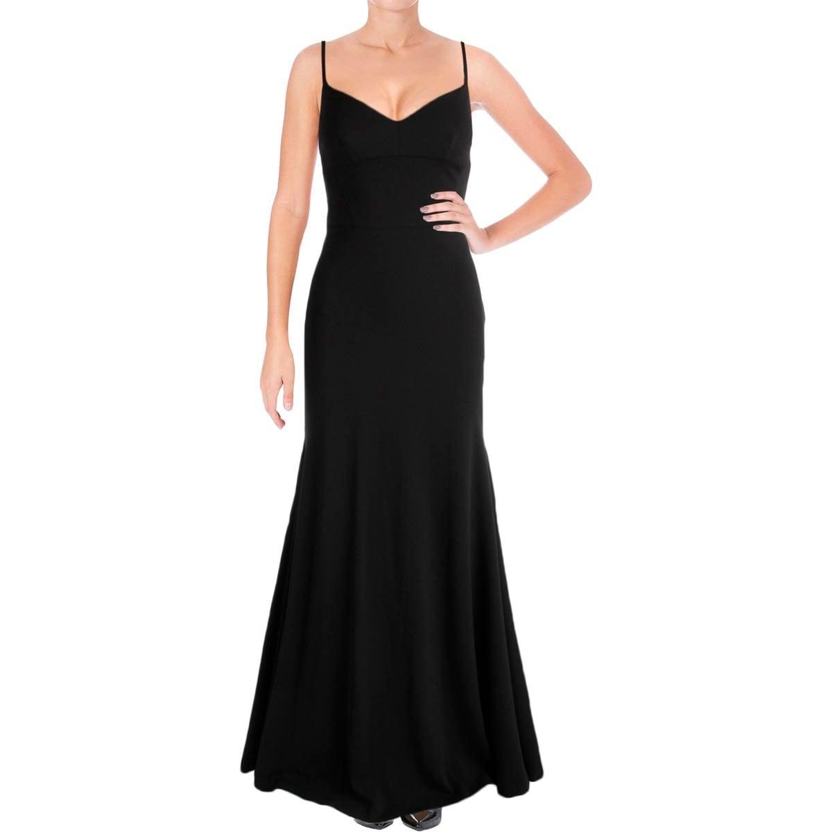 Shop Vera Wang Womens Evening Dress Jersey Cut-Out - Free Shipping ...