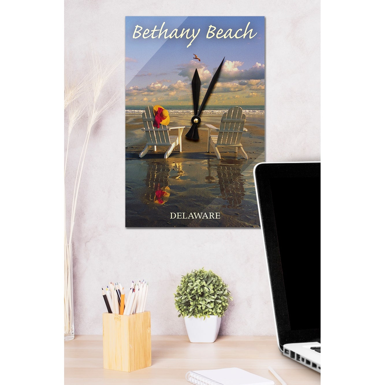 Shop Bethany Beach, DE Adirondack Chairs LP Photography (Acrylic Wall  Clock)   Acrylic Wall Clock   Free Shipping Today   Overstock.com   13597575