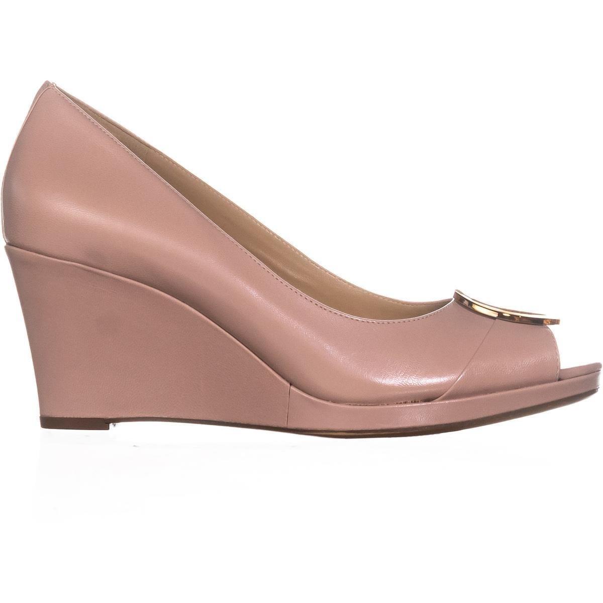 8be33b1703f7 Shop naturalizer Ollie Peep Toe Wedge Heels