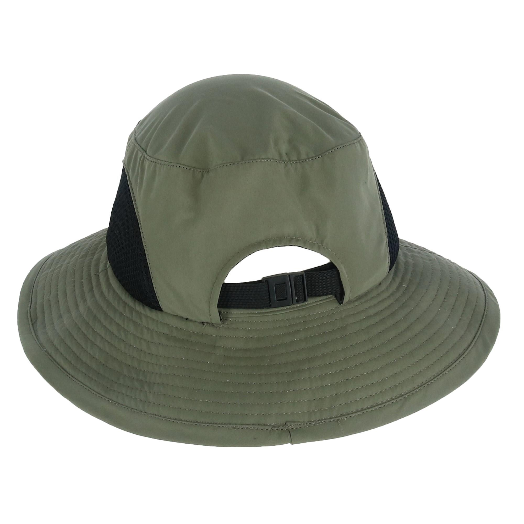 ffac57412c6487 Shop Kenny K Men's Breathable Bucket Hat with Chin Cord - Free ...