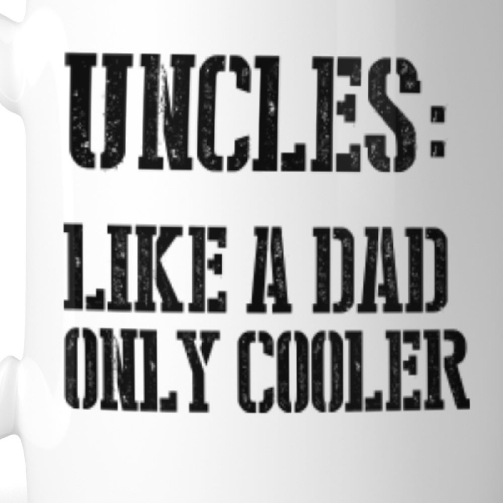 Shop Uncle Cooler Than Dad Mug Christmas Birthday Gift Idea For