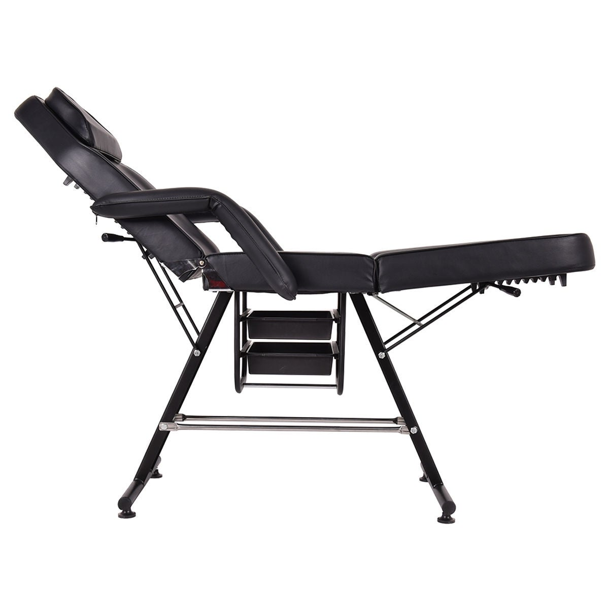 lazada new ph products specifications of bed orange folding massage table portable