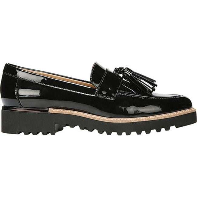 fe8cca8c8f3 Shop Franco Sarto Women s Carolynn Tassel Loafer Black Patent Synthetic -  Free Shipping Today - Overstock - 27428251