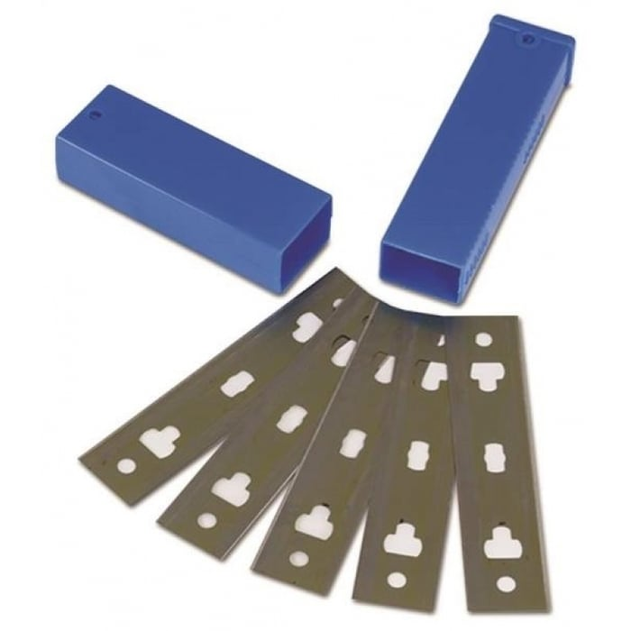 """Master Painter 4/"""" Replacement Glass and Tile Scraper Blade 10PK"""
