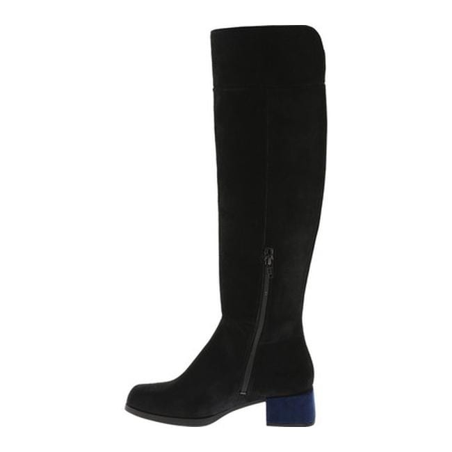 48edd94260e Shop Camper Women s Kobo Over the Knee Boot Black Navy Blue Suede - Free  Shipping Today - Overstock - 17905061