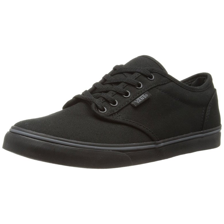 71a5b24da0 Shop Vans Womens Atwood Low Top Lace Up Canvas Skateboarding Shoes ...