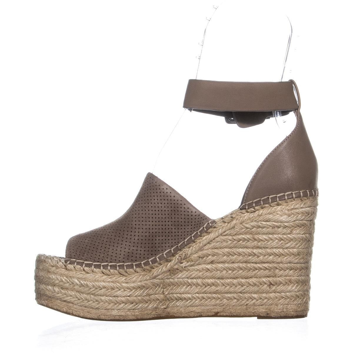 079a69fb22a Shop Marc Fisher Adalyn Ankle Strap Wedge Peep Toe Sandals
