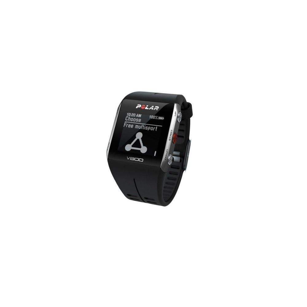 Polar V800 Black Fitness Watch with HRM & Running & Cycling Sensor  Compatibility
