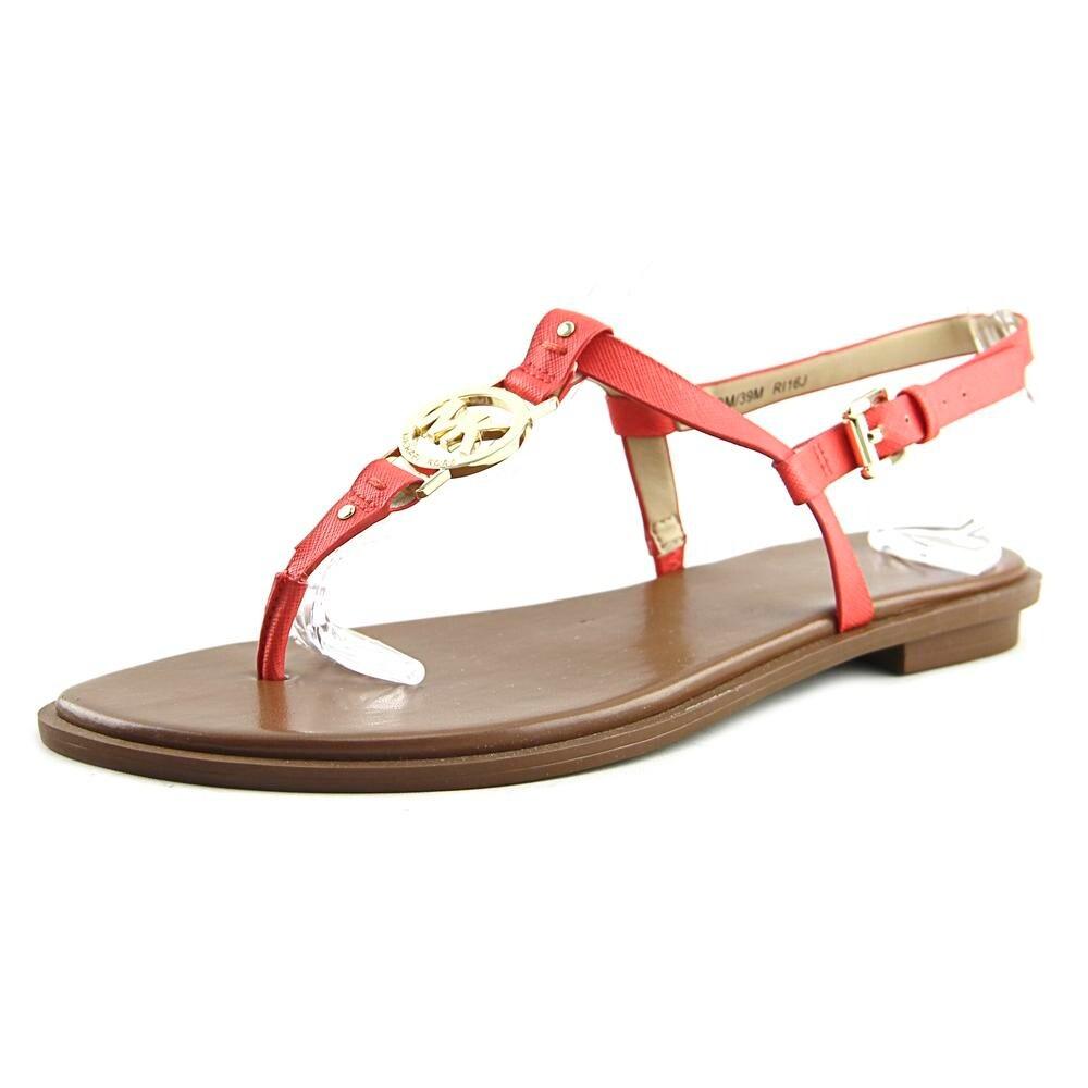 459831395be354 Shop Michael Michael Kors Sondra Women Open Toe Leather Red Thong ...