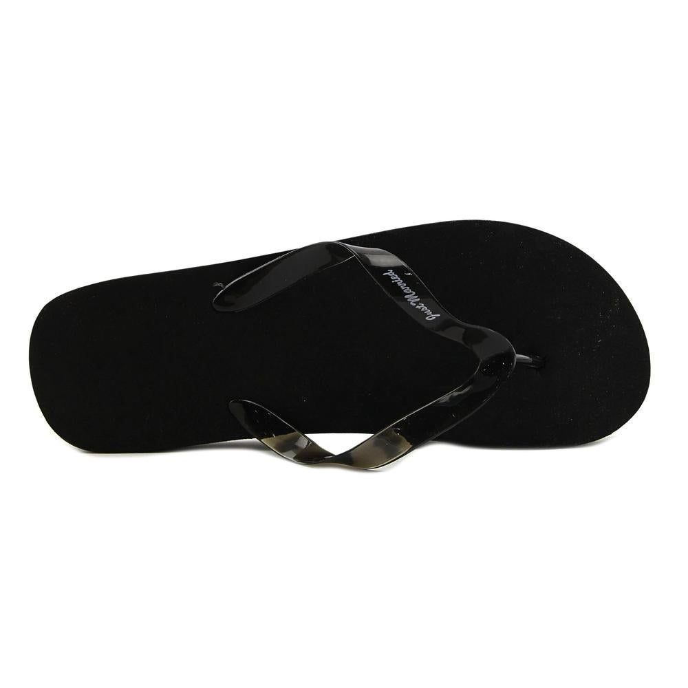 f99d5a5ae8c19e Shop Victoria Lynn Just Married Men Open Toe Synthetic Black Flip Flop  Sandal - Free Shipping On Orders Over  45 - Overstock - 19499285