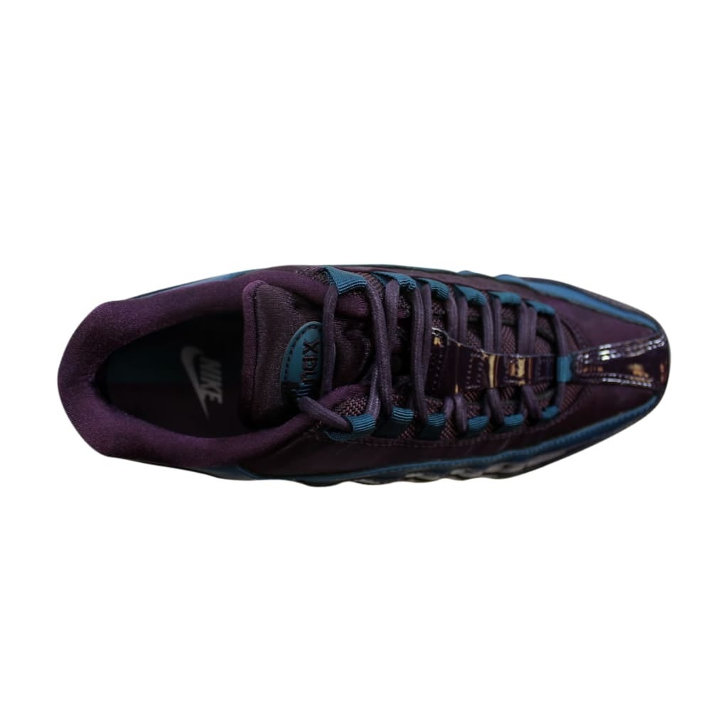 ae2f922673bd42 Shop Nike Air Max 95 SE Premium Port Wine Space Blue AH8697-600 Women s -  Free Shipping Today - Overstock - 27339622