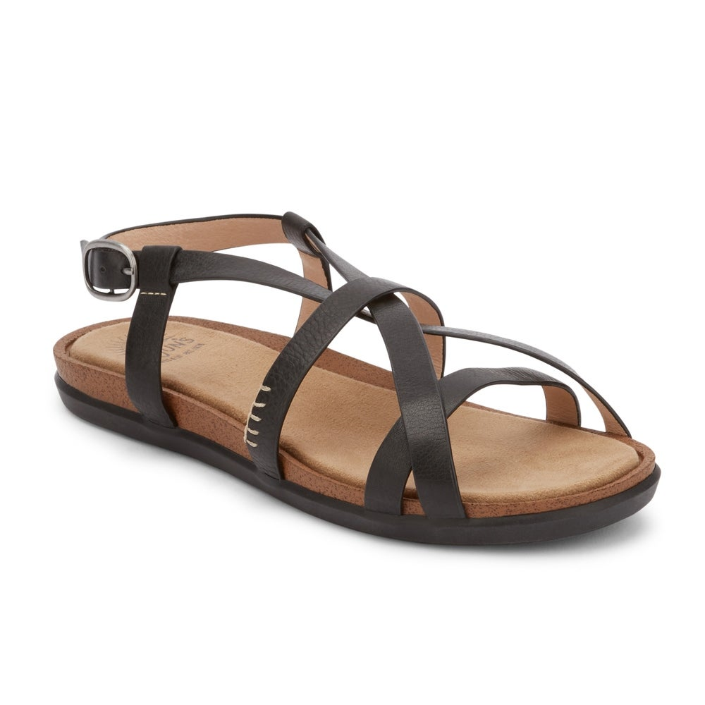 c099ffbfcc2 Shop G.H. Bass   Co. Womens Margie 2.0 Leather Sunjuns Sandal Shoe - Ships  To Canada - Overstock - 22538567