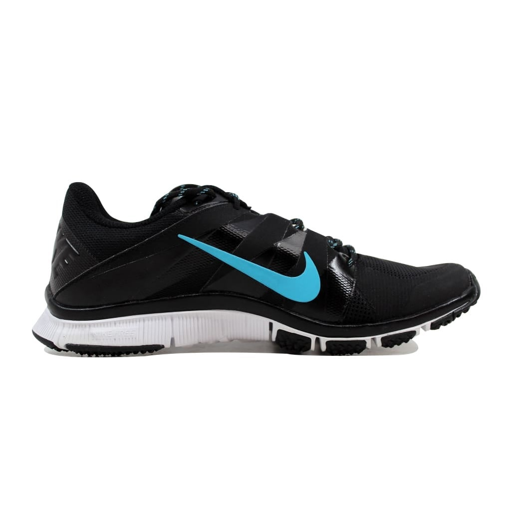 86247a156410 Shop Nike Free Trainer 5.0 Black Gamma Blue-White 511018-044 Men s ...