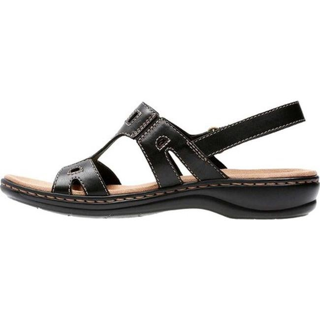 84bd33b32cce Shop Clarks Women s Leisa Annual Black Leather - On Sale - Free Shipping  Today - Overstock - 10284044
