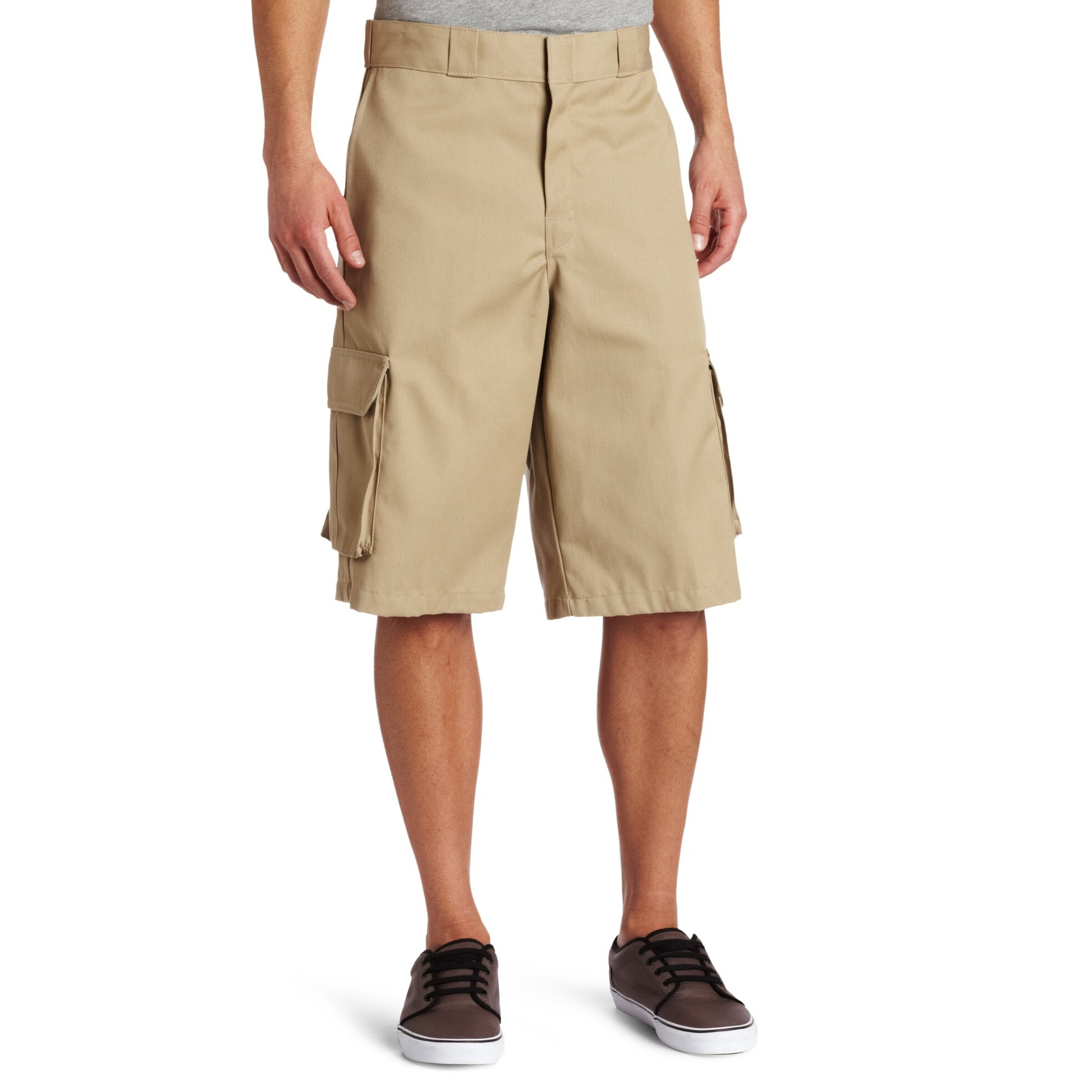 9689da61f1 Shop Dickies Beige Mens Size 32 Loose-Fit Non Wrinkle Cargo Shorts ...