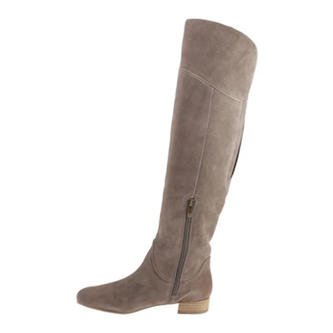ad6ac591c53 Shop Enzo Angiolini Women s Malaci Taupe Suede - Free Shipping Today ...