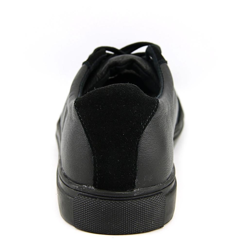 dbc678aea4e77 Shop Generic Surplus Champion Low Men Leather Black Fashion Sneakers - Free  Shipping On Orders Over  45 - Overstock - 13572628