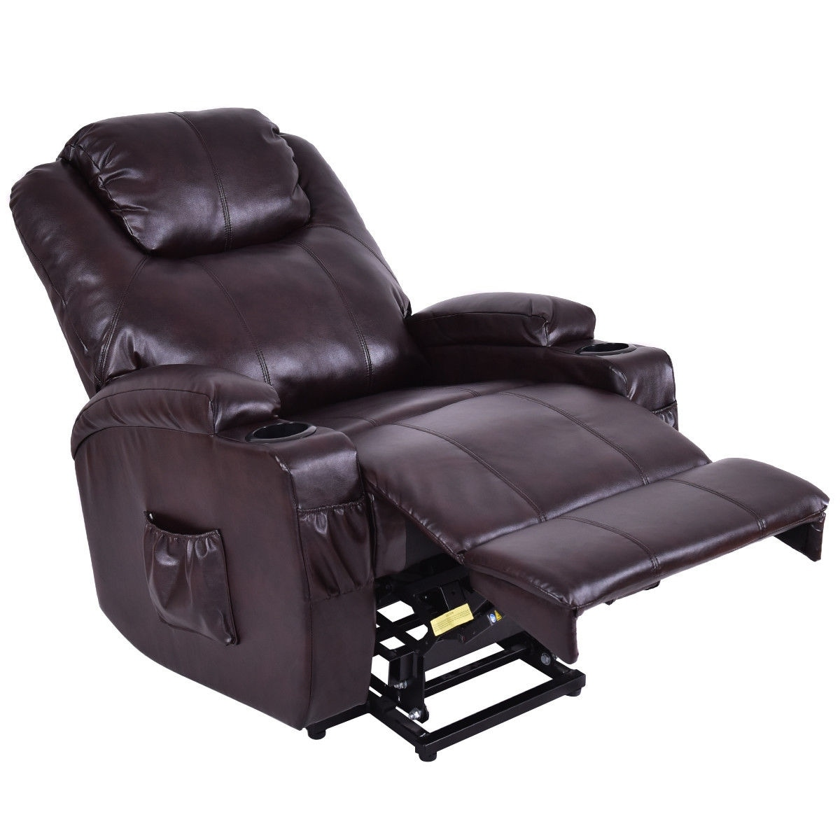 Shop Costway Lift Chair Electric Power Recliner Wremote And Cup