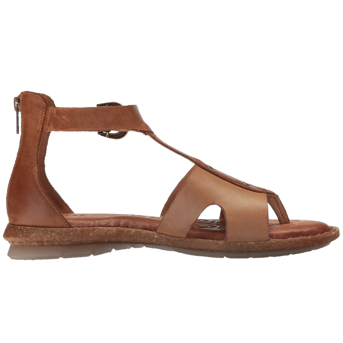 a8a4a9171327 Shop Born Womens Timina Leather Open Toe Casual T-Strap Sandals - 8 - On  Sale - Free Shipping Today - Overstock.com - 22308094