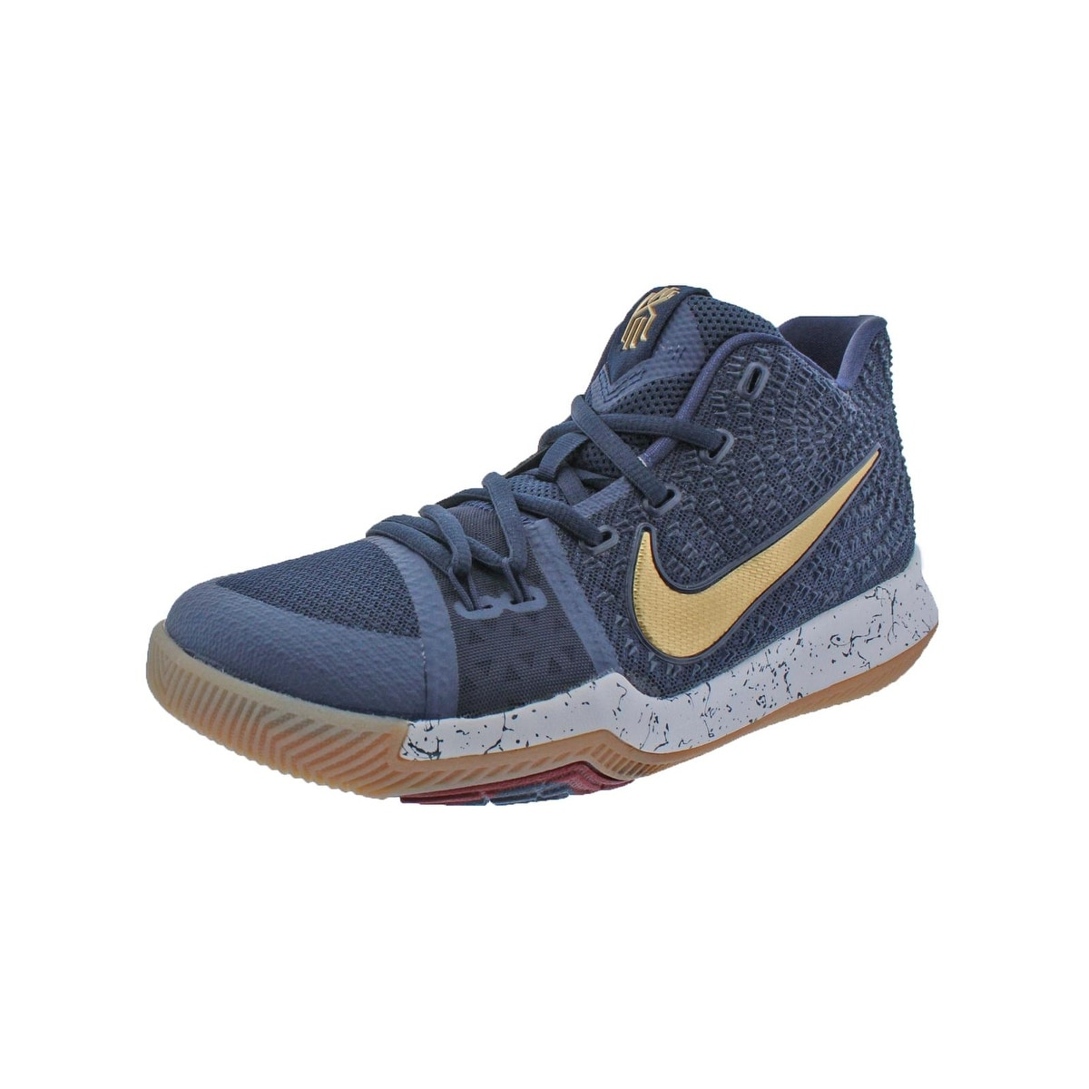 9106df1b840 Shop Nike Boys Kyrie 3 Basketball Shoes Colorblock Mids - Ships To Canada -  Overstock - 22025161