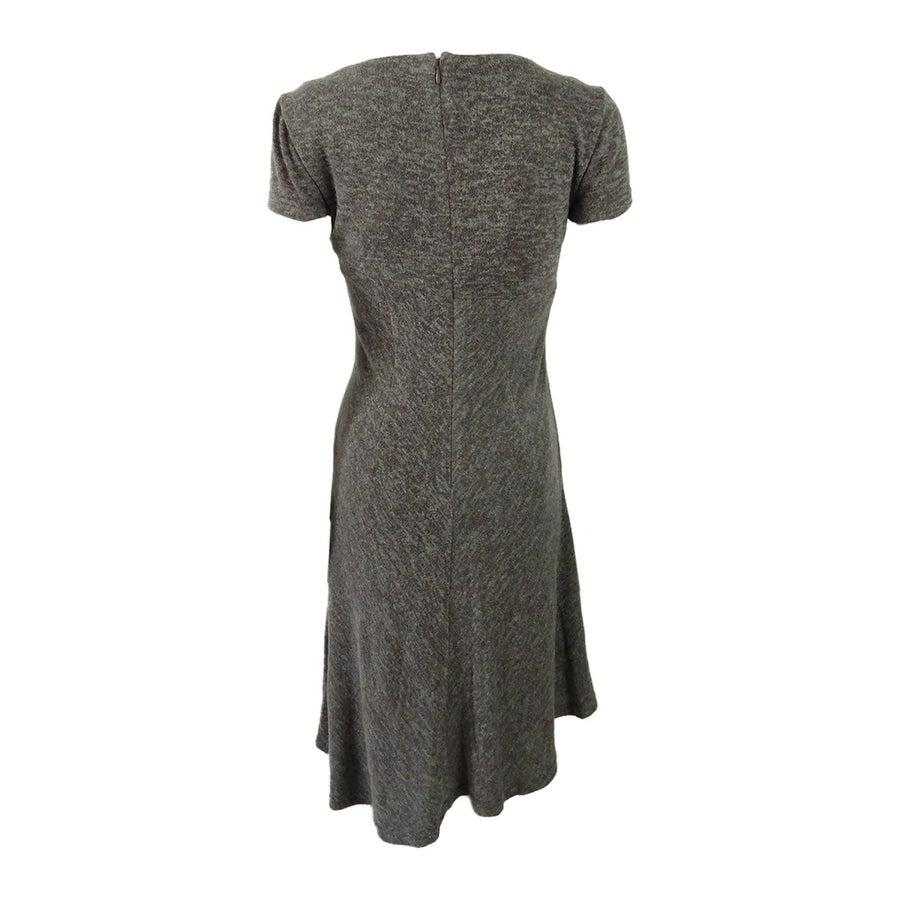 edac78b2 Shop Ellen Tracy Women's Petite Marled Asymmetrical-Hem Sweater Dress - On  Sale - Free Shipping On Orders Over $45 - Overstock - 23553510