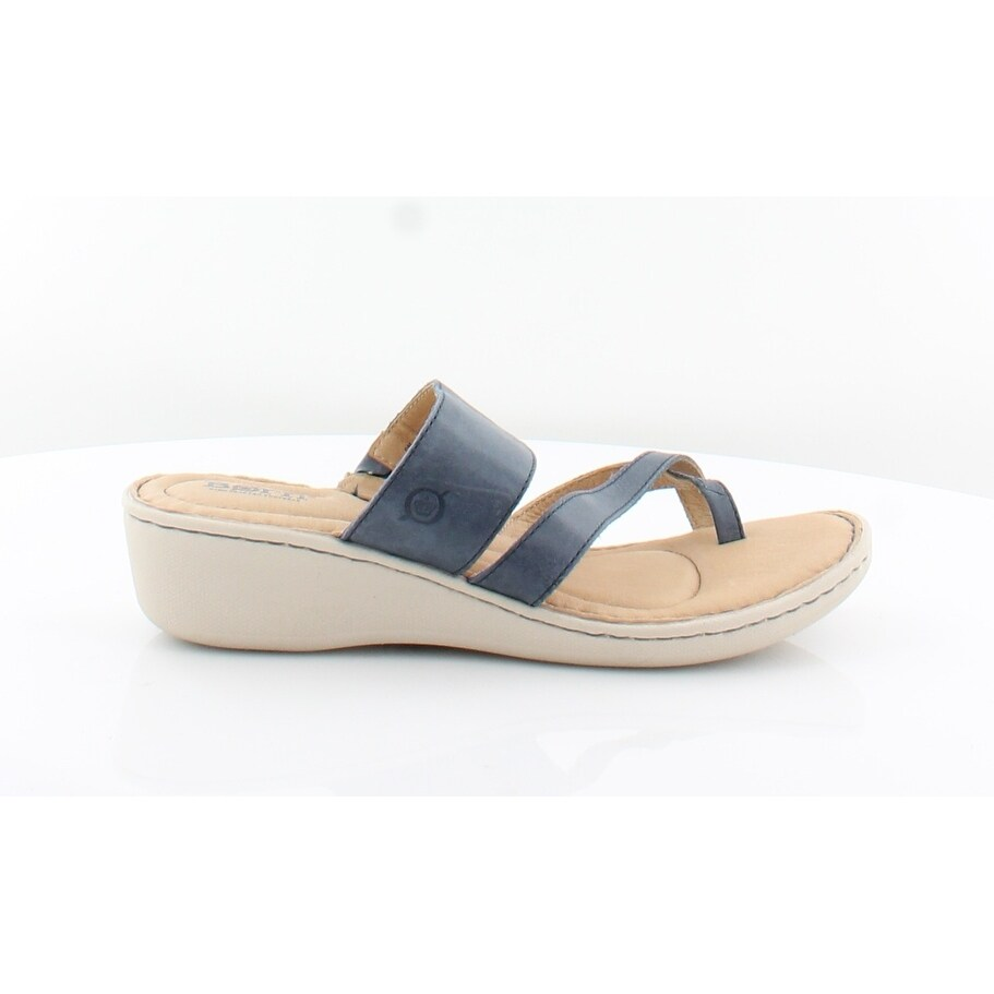 1f0412810e07 Shop Born Siene Women s Sandals Navy - Free Shipping Today - Overstock.com  - 27223324