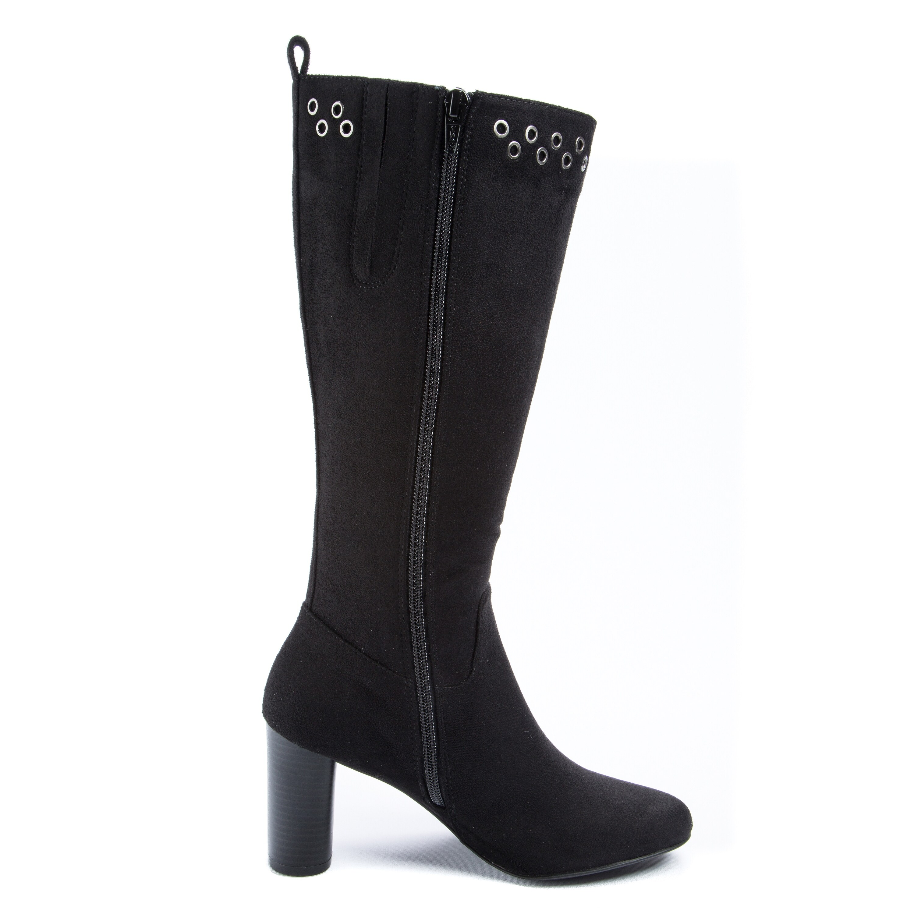Andrew Geller Jean Women's Boots Black - Free Shipping On Orders Over $45 -  Overstock.com - 27044528