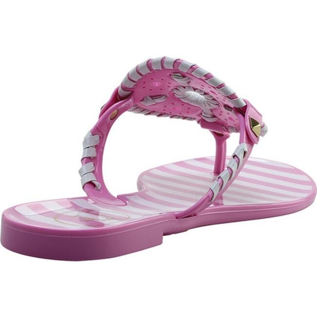 949f78525b7b Shop Jack Rogers Women s Georgica Jelly Lavender Pink White - Free Shipping  On Orders Over  45 - Overstock - 22853196