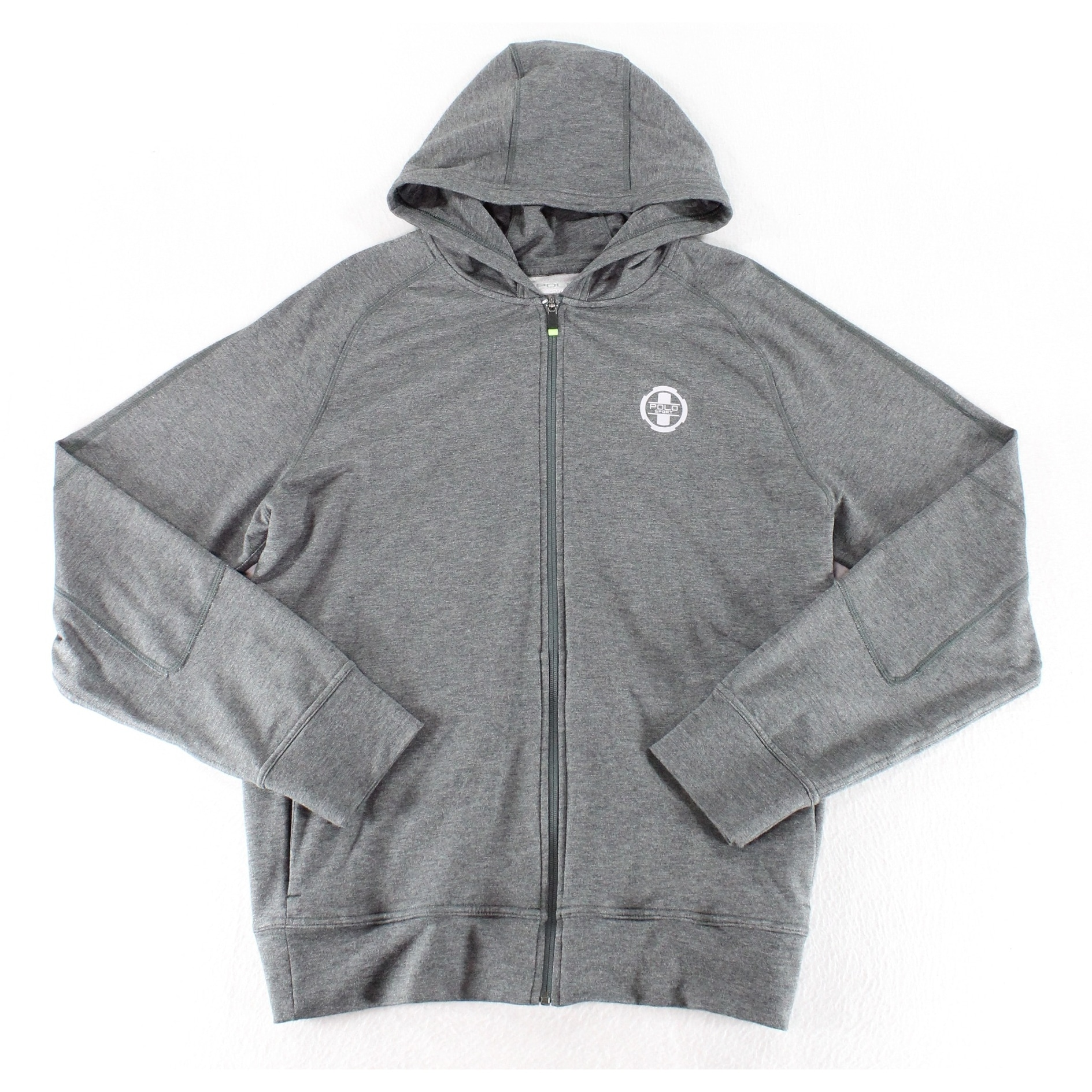3eeac58b0 Shop Polo Ralph Lauren Sport NEW Gray Mens Size XL Full-Zip Hooded Jacket -  Free Shipping On Orders Over  45 - Overstock - 20699471