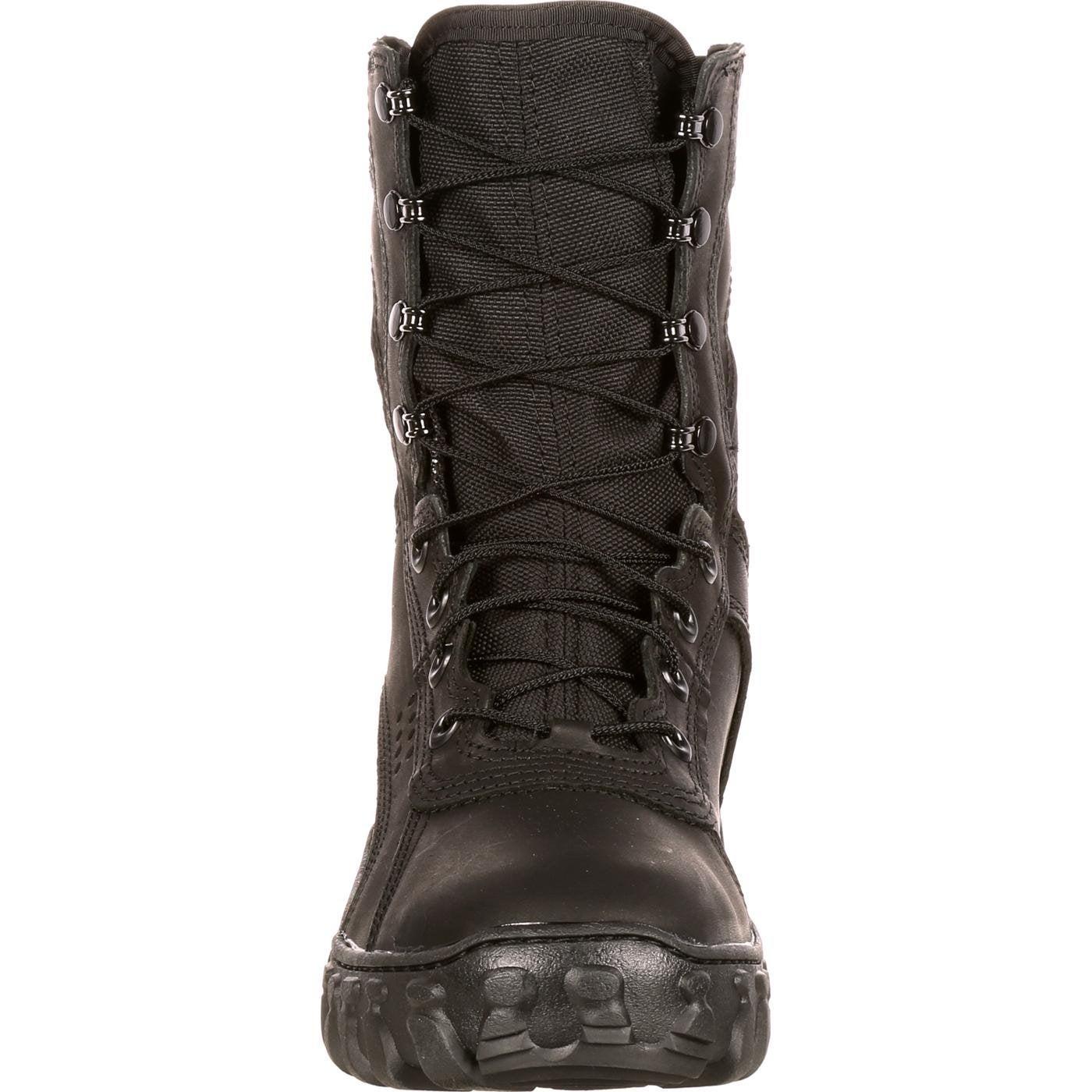 a135e29ac09 Shop Rocky S2V American-Made Black Military Boots
