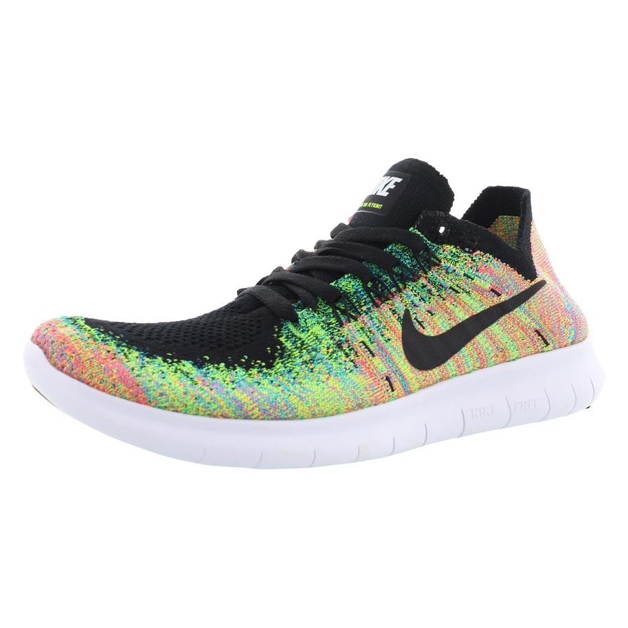 the latest 55bd7 65f60 Nike Free Rn Flyknit 2017 Running Boy's Shoes Size