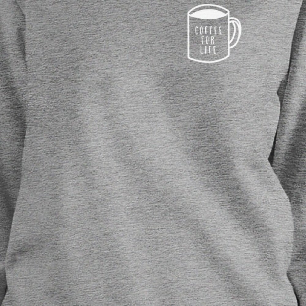 ebb16f4c3c Shop Coffee For Life Unisex Black Sweatshirt For Coffee Lovers Gift Idea -  Free Shipping On Orders Over $45 - Overstock - 14517754