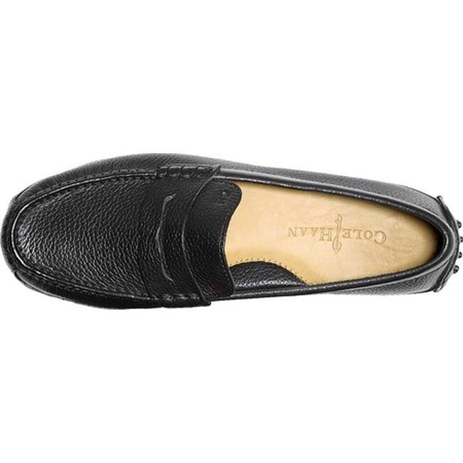 dfb0241c931 Shop Cole Haan Men s Grant Canoe Penny Loafer Black - Free Shipping Today -  Overstock - 10773988