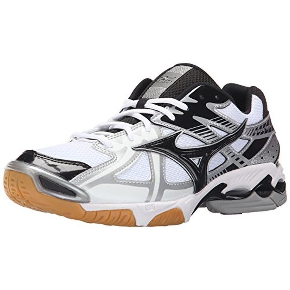 Shop Mizuno Mens Wave Bolt 4 Volleyball Shoes Mesh Lightweight - 17 medium  (d) - Free Shipping On Orders Over  45 - Overstock.com - 22670963 2ba56e9aa0b