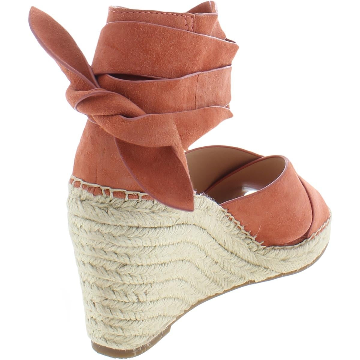 1fd4592a7b9 Shop Vince Camuto Womens Leddy Wedge Sandals Leather Espadrille - Free  Shipping Today - Overstock.com - 21480854