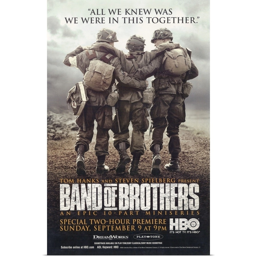 Band of brothers 2001 multi color