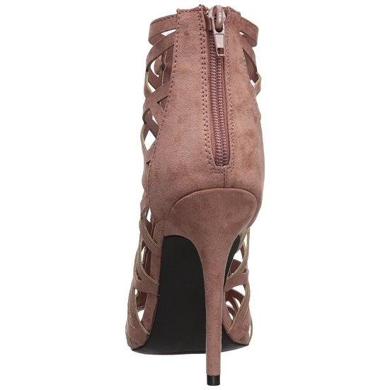 Qupid Women/'s Ara-388 Heeled Sandal
