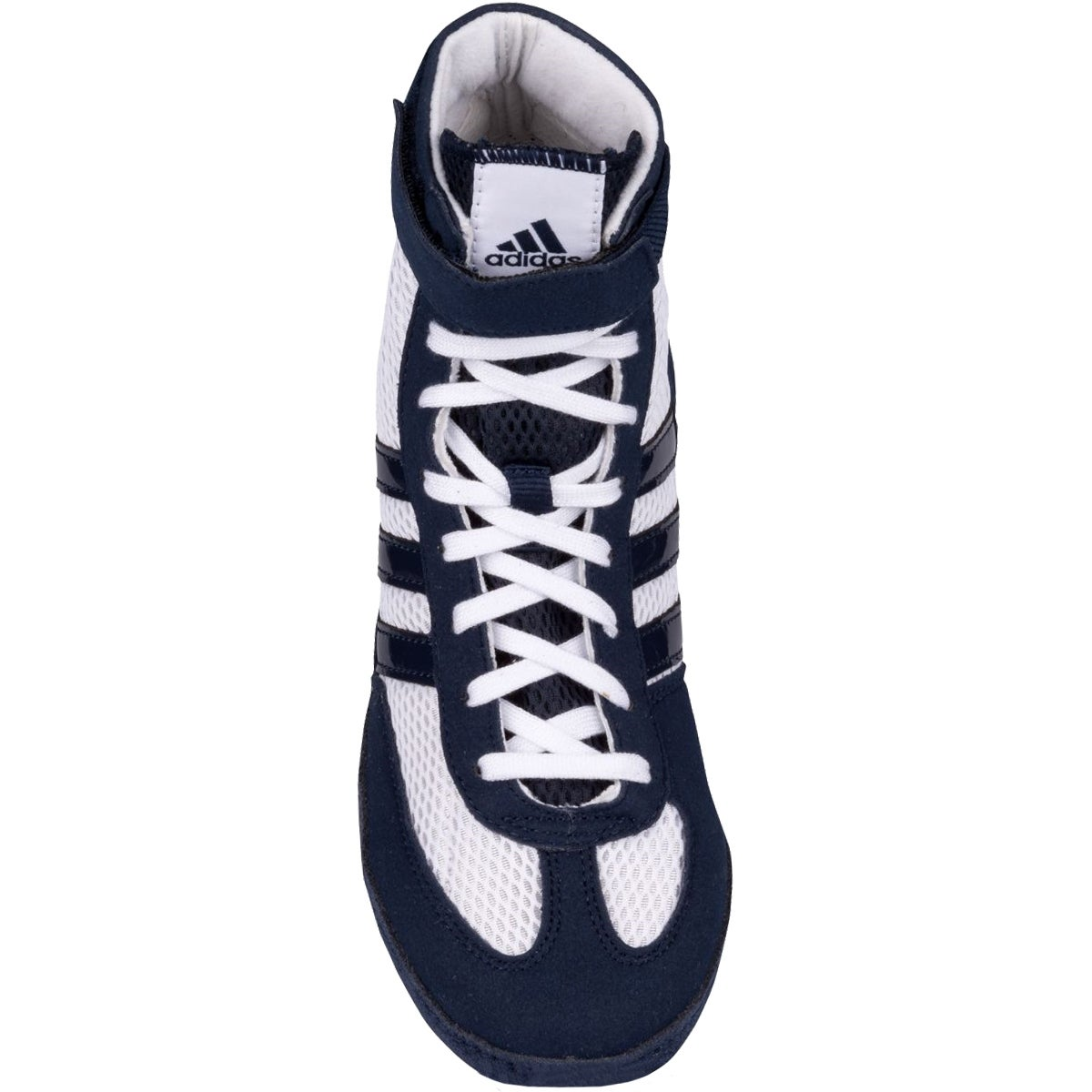 9f113f87dd758f Shop Adidas Combat Speed 4 Youth Wrestling Shoes - White Navy - Free  Shipping Today - Overstock - 16629704