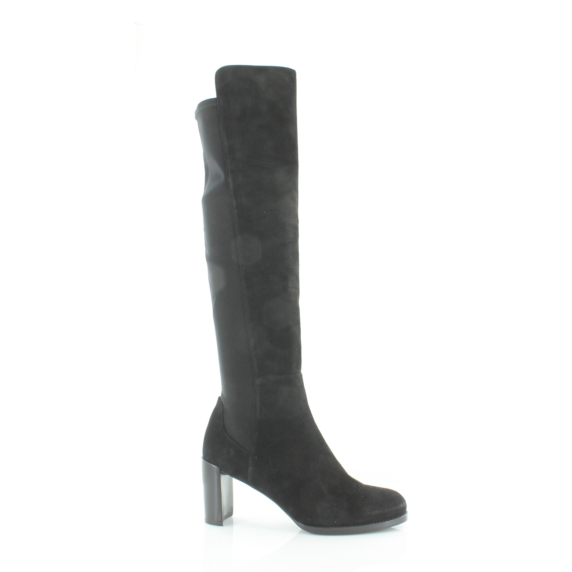 074b4dde11e Shop Stuart Weitzman Lowjack Women s Boots Black - 9.5 - Free Shipping  Today - Overstock - 21554553