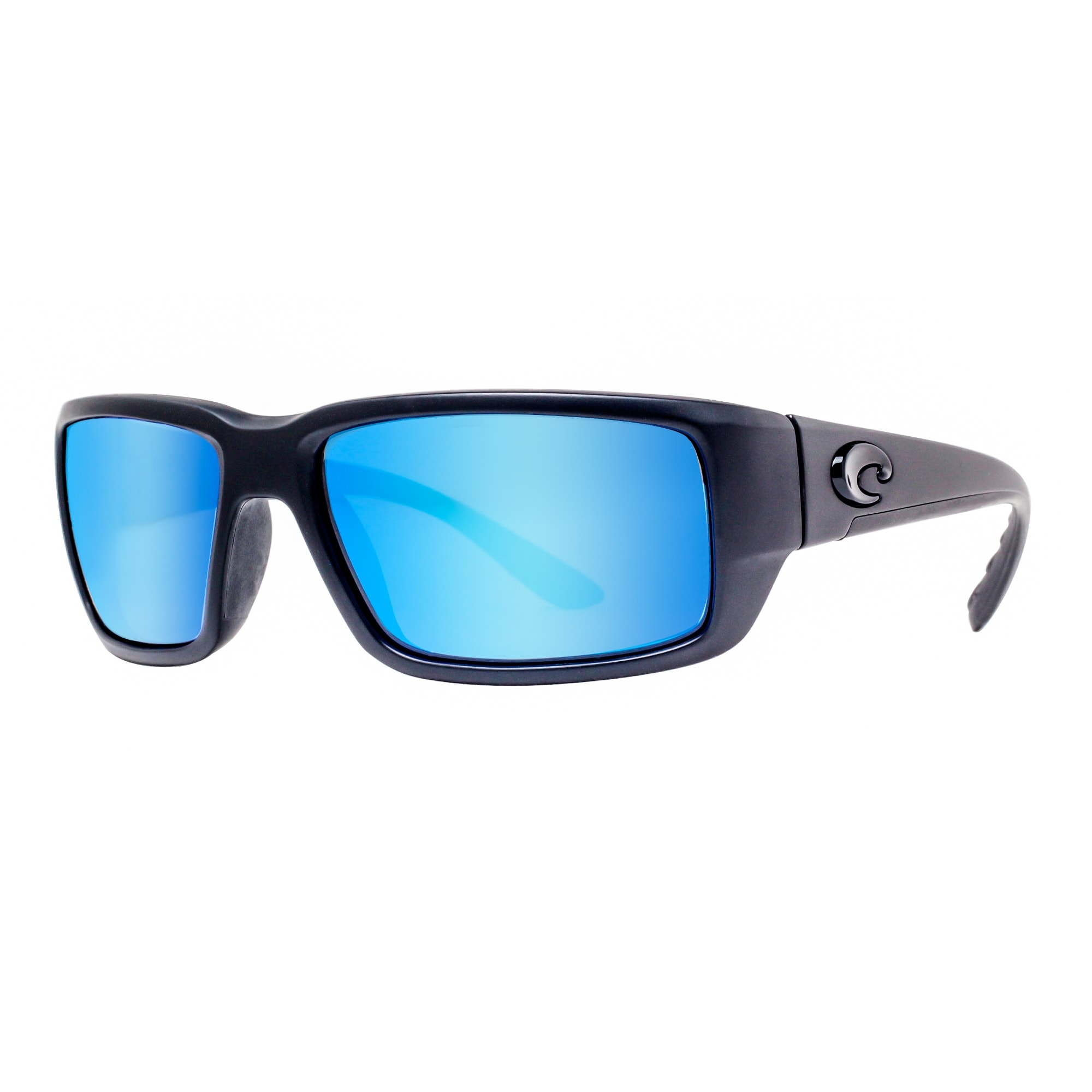 fb859a0349bea Costa Del Mar Fantail TF01BMGLP Matte Black out 400G Blue Mirror Pol  Sunglasses - matte blackout - 59mm-18mm-120mm