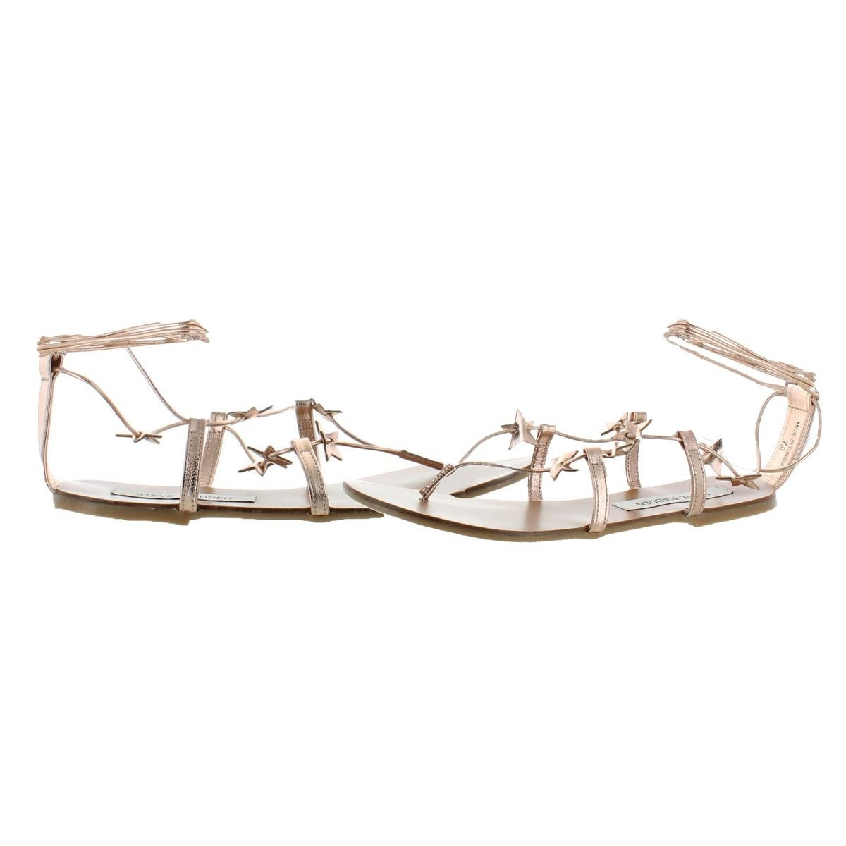 61a1d8c88cf9 Shop Steve Madden Womens Whitney Strappy Sandals Metallic Stars - Free  Shipping On Orders Over  45 - Overstock - 22804572