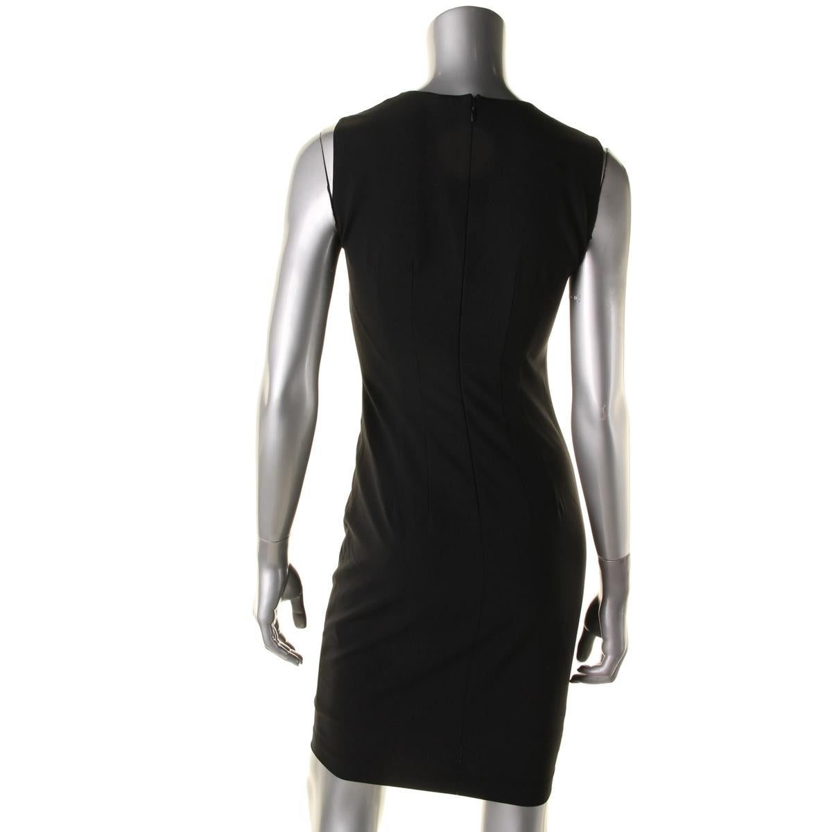 fa85f10f5e21 Shop Elie Tahari Womens Gwenyth Cocktail Dress Wool Sleeveless - Free  Shipping Today - Overstock - 17671698