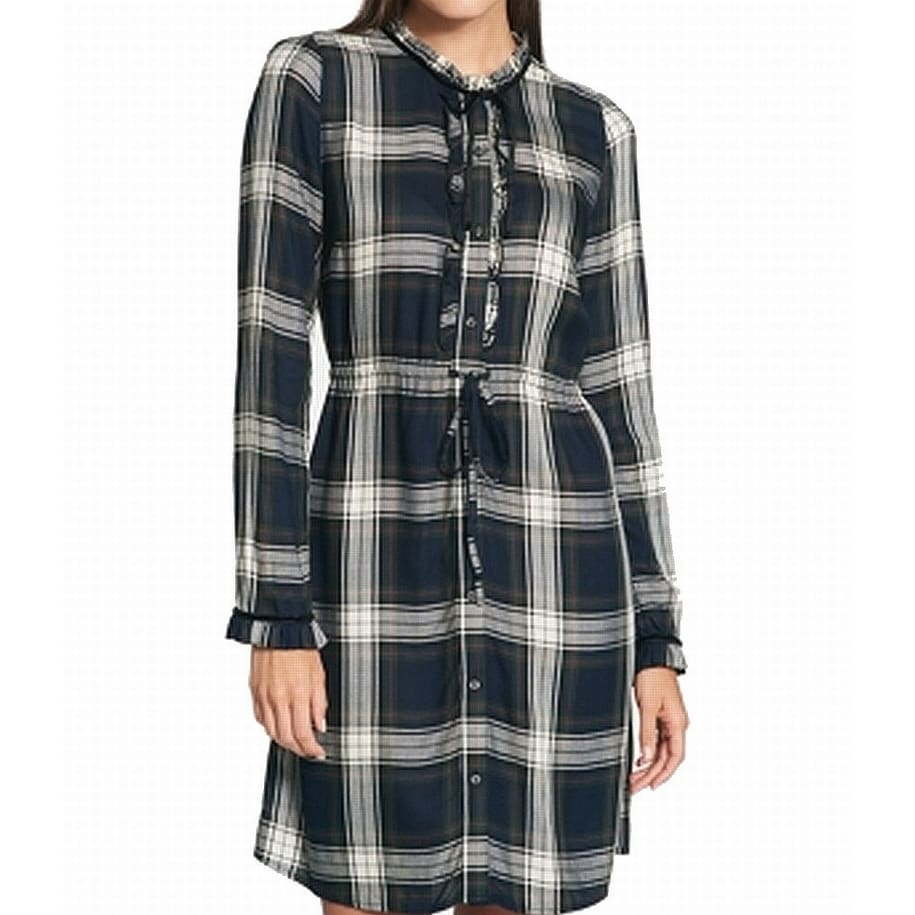 b3203e5e4d0 Womens Plaid Dress Shirt - DREAMWORKS