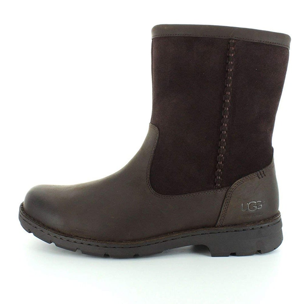 af228a0ca7a Ugg Mens foerster Closed Toe Ankle Cold Weather Boots - stout leather - 8