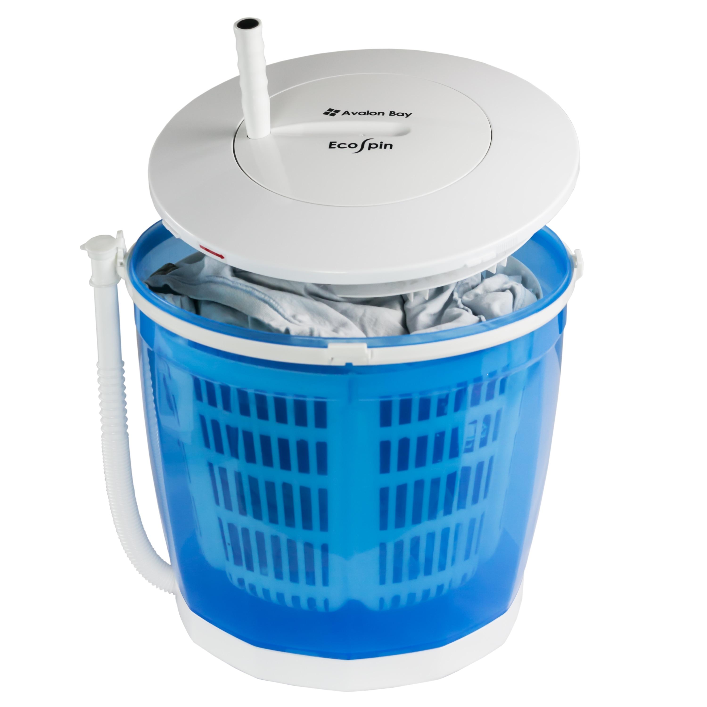 Shop Avalon Bay EcoSpin Portable Washing Machine - White - Free ...