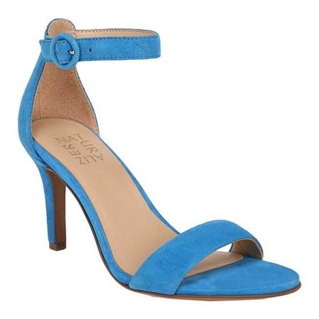 Shop Naturalizer Women s Kinsley Ankle Strap Sandal Blue Suede - On ...