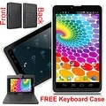 "Indigi® 7.0"" 3G Unlocked 2-in-1 DualSIM SmartPhone + TabletPC Android 4.4 KitKat w/ KeyCase included"